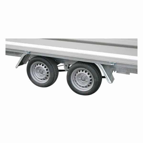 Variant 3518 X3 nærbilled af hjul og bladfjedre